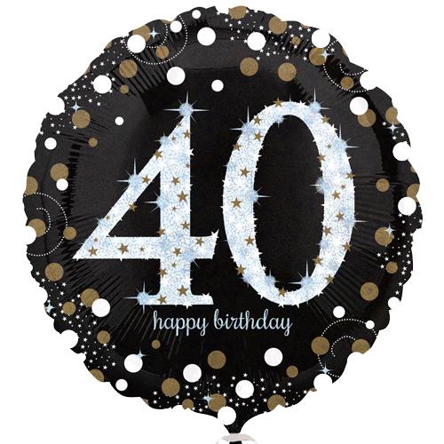 40ste verjaardag ballon