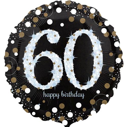 60ste verjaardag ballon