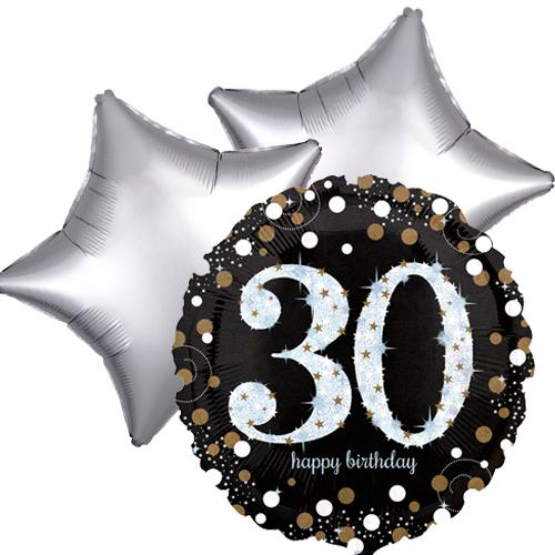 Ballonboeket 30ste verjaardag