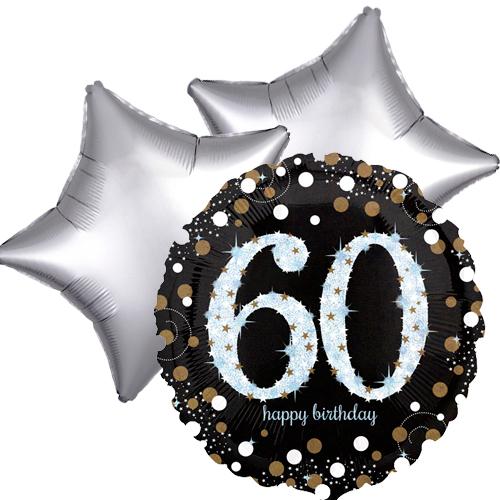 Ballonboeket 60ste verjaardag
