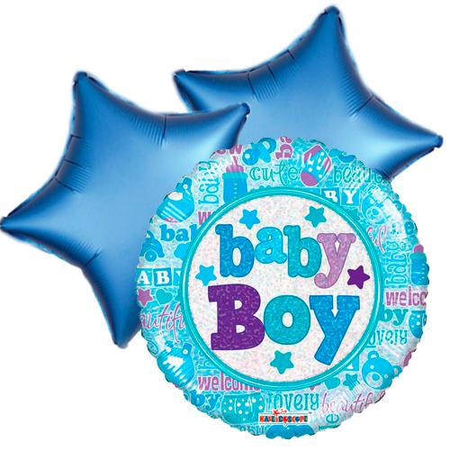 Ballonboeket little baby boy