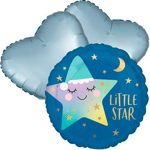 Ballonboeket little star boy