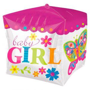 Cubez ballon Baby Girl