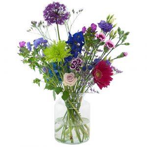 Plukboeket paars/lila