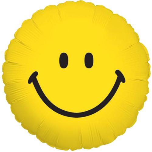 Smiley heliumballon